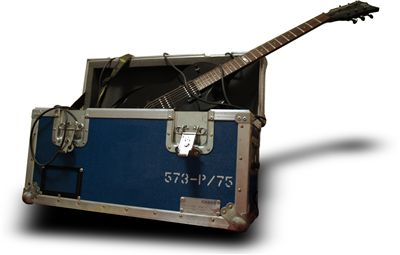 Road Case and Guitar