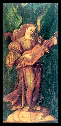 Angel Playing Vihuela